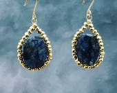 RSV for B Vsrgo  Blue Labradorite earrings