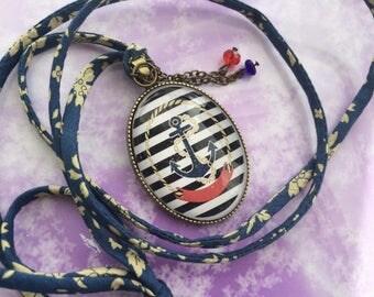 romantic necklace liberty marine pendant