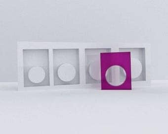 silicone concrete or resin ring mold AURELIE