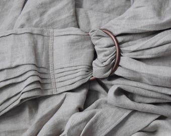 Linen Ring Sling Baby Carrier - Natural