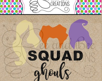 Squad Ghouls SVG & PNG files