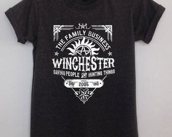 Winchester Saving people hunting things clothing dean sam family supernatural