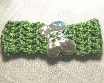 Baby hair strap made to crochet crochet