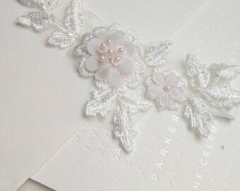 Pink lace garter, lace garter set, pink garters, flower garter, flower garter set, Bridal garter, wedding garter, pink garter set,