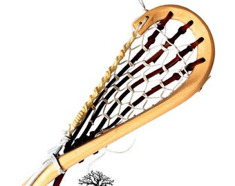 Traditional Lacrosse - Wooden Box Lacrosse Stick (Engraved*)