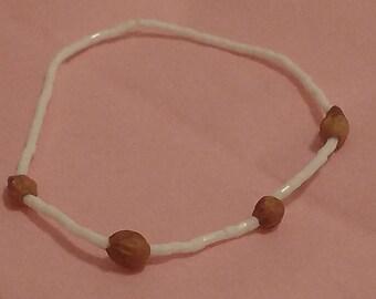 Stretch ghost bead bracelet