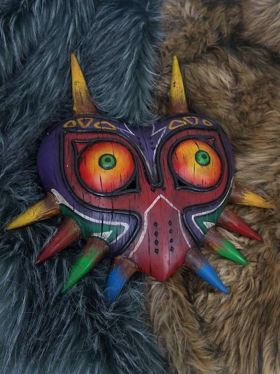 The Legend Of Zelda Majora S Wearable Wood Like Mask