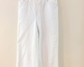 1920's High Waist Cotton Trousers