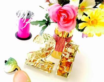 Number Piñata - Mini Piñata - Mini Number Pinata- Birthday Piñata - Pinata Party Favor - Desk Decor - Party Favor -Birthday Gift