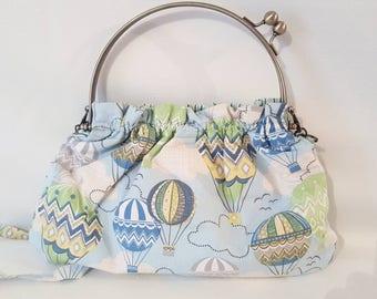 Hot Air Balloon Vintage Inspired Purse/Handbag
