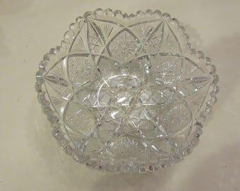 LIBBEY CUT GLASS Bowl
