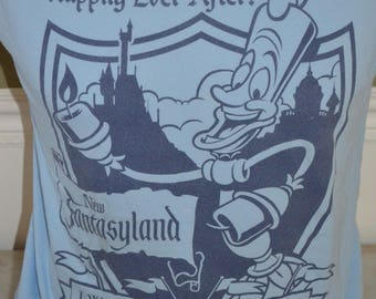 Vintage Walt Disney World Exclusive Fantasyland Grand Opening Graphic T-Shirt (Size: M)