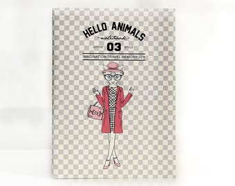 Hello Animals 03 | Fashion Lady