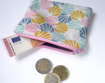 Coin purse - inserts - geometric