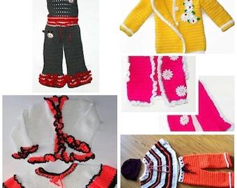 Toddler patterns, Toddler girls, Crochet toddler patterns, Crochet patterns for girls, Girls clothing, Sets for toddler, Baby girl patterns