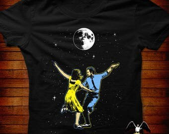 La La Land Designer T-shirt  S M L XL 2XL 3XL 4XL 5XL also in Ladies fit S-2XL