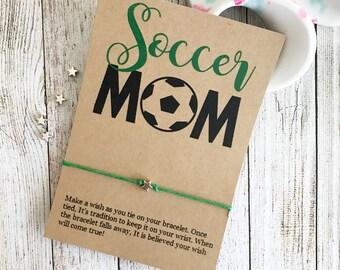Soccer Mom Gift, Soccer Mom Bracelet, Soccer Bracelet, Soccer Team Gift, Sports Mom Gift, Sports Mom Bracelet, Soccer Party Favors