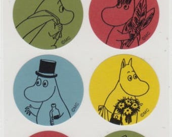 Moomin Stickers - Reference A4228