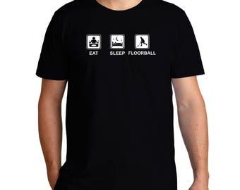 Eat Sleep Floorball T-Shirt