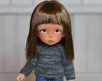 Pukifee sweater (mixed greenish blue)