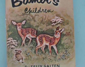 Dandelion Library Bambi's Children  / Old Rosie, the Horse Nobody Understood 1960 Free Shipping
