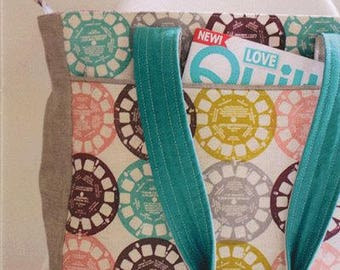 FREE SHIPPING! Super Tote Bag Pattern by Noodlehead