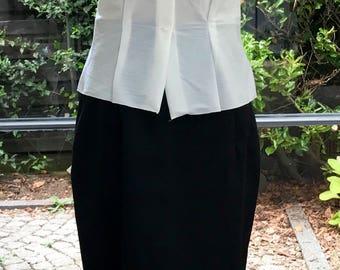 50's fifties, short sleeve blouse, blouse, summer blouse