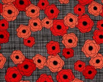 Poppy Field / custom fabric