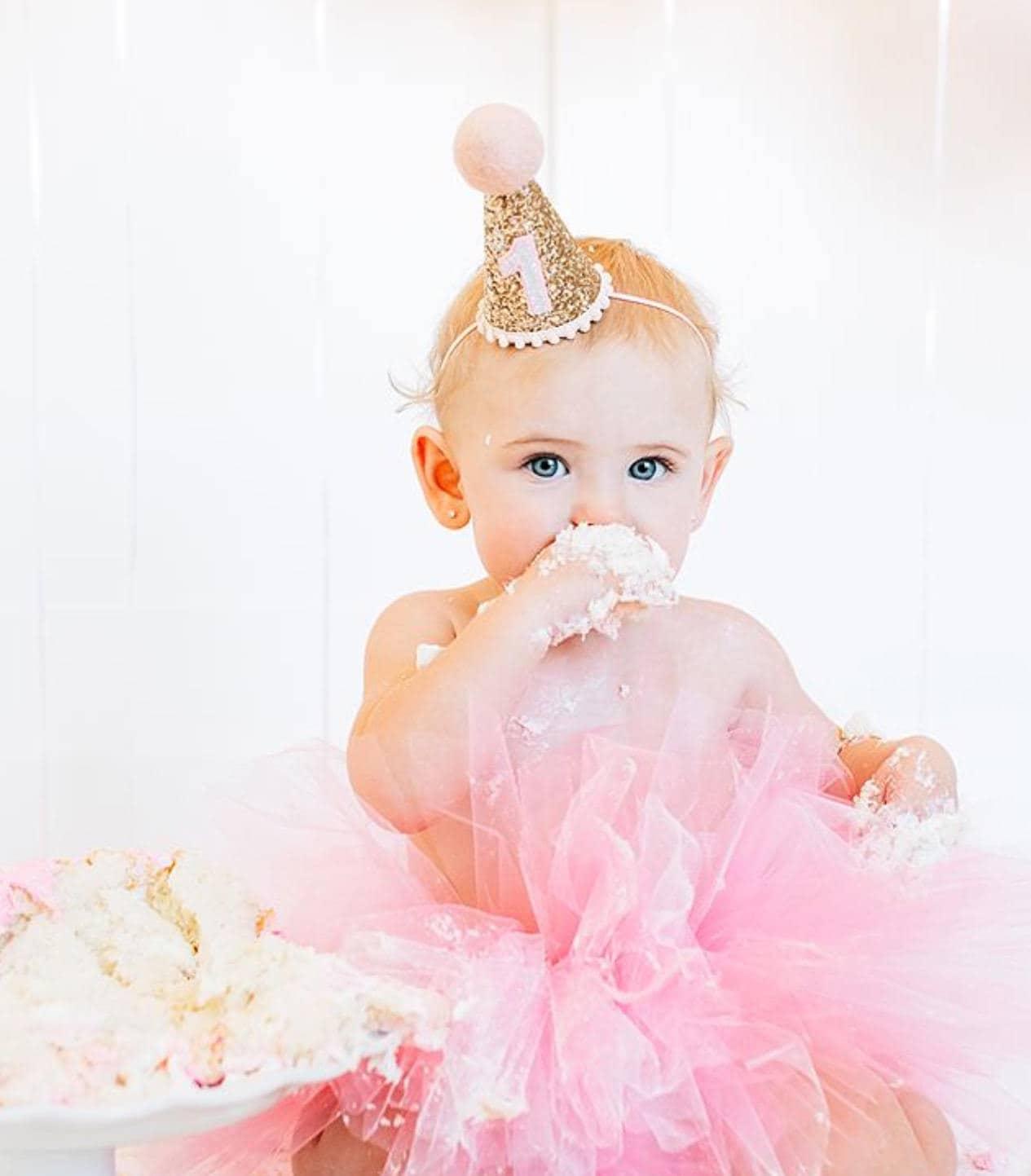 First Birthday Hat 1st Birthday Girl Outfit First Birthday Smash