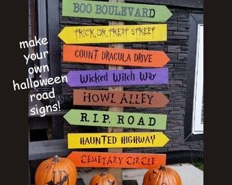 SVG Halloween monster blocks / halloween block set / Cricut