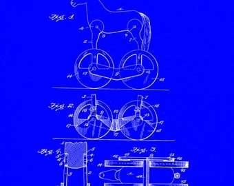 Childs Toy Patent #628654 dated July 11, 1899.