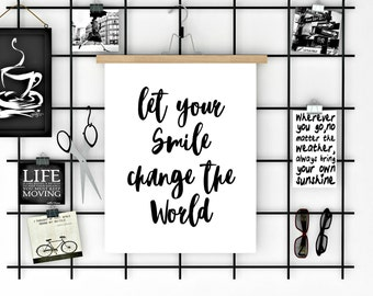 Positive quote print, Motivational poster, Typography poster, Motivational quote, Inspirational poster, Motivational art, Instant download