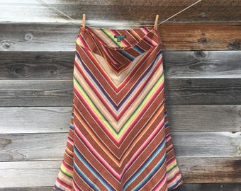 Vintage Ralph Lauren Southwest Mexican Blanket Skirt