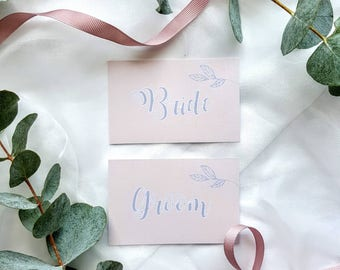 Flat place cards | Etsy