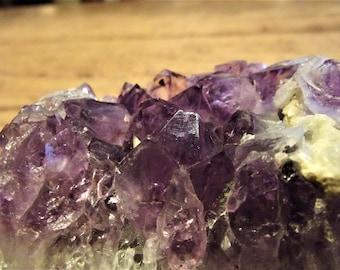 Amethyst Crystal Mineral