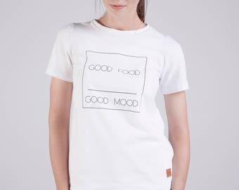 Handmade breastfeeding t-shirt GOOD. Double cotton clothes. Nursing blouse.  Maternity clothing.
