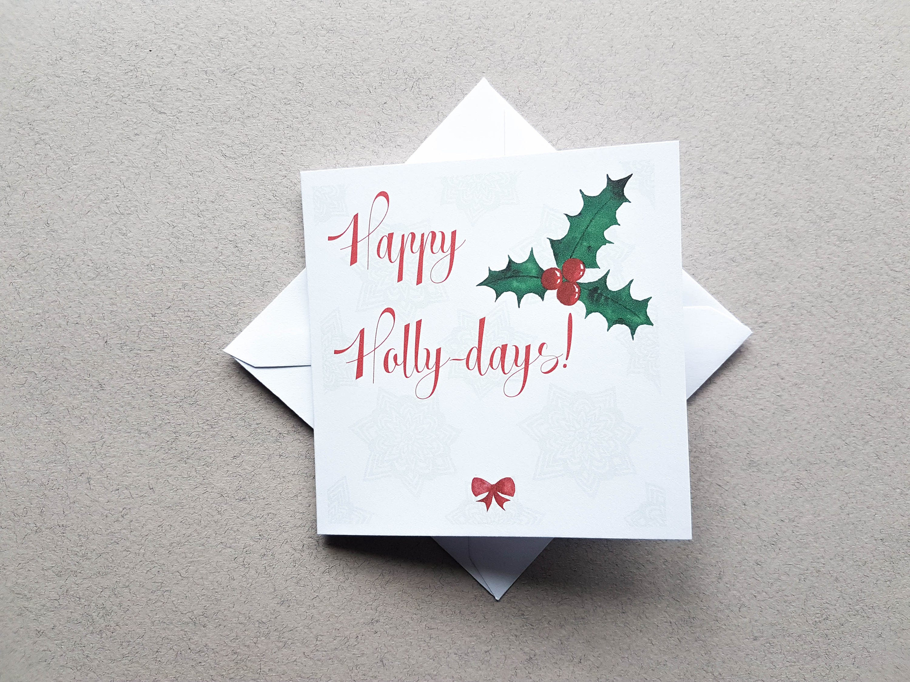 Funny holly christmas card family holiday card xmas card greeting funny holly christmas card family holiday card xmas card greeting card christmas m4hsunfo