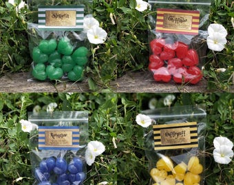 Hogwarts inspired wax melts: choose your house!