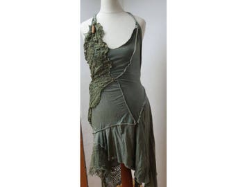 bohemian dress for fairies, wedding