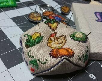 Cross Stitch Pattern - Stardew Valley Biscornu / Pincushion / Ornament