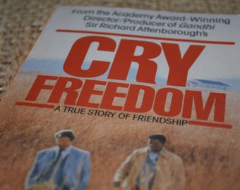 Cry Freedom. John Briley. A Vintage Penguin Book. 1987