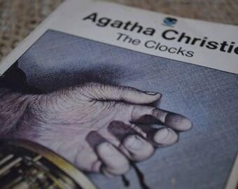 The Clocks. Agatha Chrisite. Fontana Books. A Vintage Paperback. 3694. 1974