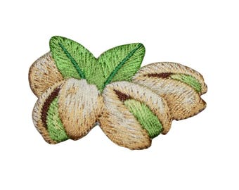 Pistachios Nuts Applique Patch (Iron on)