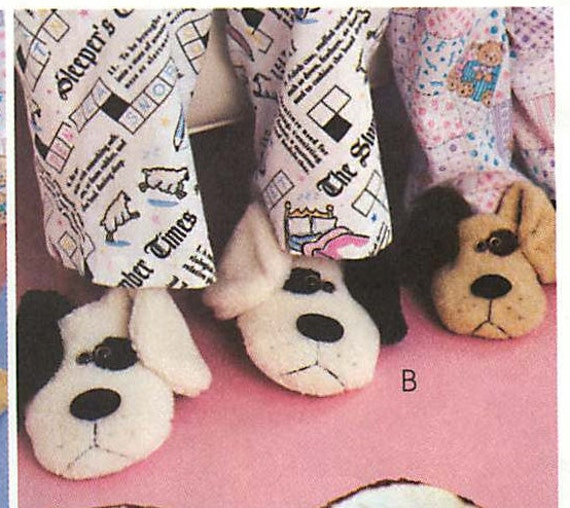 Mccall 39 s crafts 3471 adult and children 39 s bear cat for Dog crafts for adults