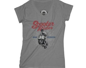Scooter t-shirt urban t-shirt hipster t-shirt biker t-shirt gang t-shirt scooter rider gift vintage design t-shirt normcore tshirt  AP23