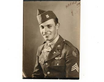 My baby I love you more then you will ever know- Harold Lee, vintage ww2 photo
