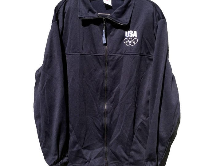 Large Official Olympic Committee Warm-up Jacket