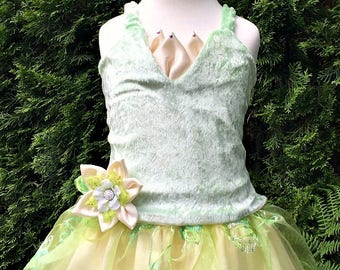 Princess Tiana Costume, Designer Kids Dress Up Costume from The Princess and the Frog