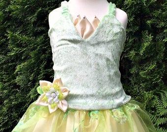 Princess Tiana Costume And The Frog Kids Photos Handmade Craft Dance
