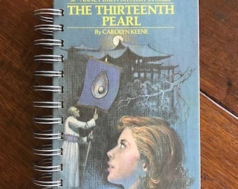 Vintage Nancy Drew Book Journal, The Thirteenth Pearl